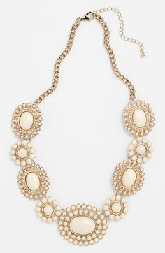 BP. Floral Statement Necklace (Juniors) available at #Nordstrom