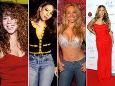 Mariah Carey's Metamorphosis: 42 Pics For Her 42nd Birthday!