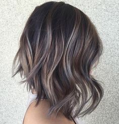 35 Smoky and Sophisticated Ash Brown Hair Color Looks - Part 14
