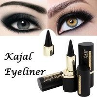 MISS ROSE Brand Maquiagem Makeup Eyes Pencil Longwear Black Gel Eye Liner Stickers Eyeliner Waterpro