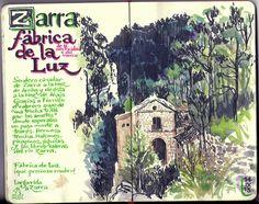 de vuelta con el cuaderno: Hoces del río Zarra