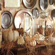 Pottery Barn Fall Decor