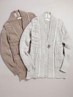 LABEL+thread - Cable Cardigan | VAULT
