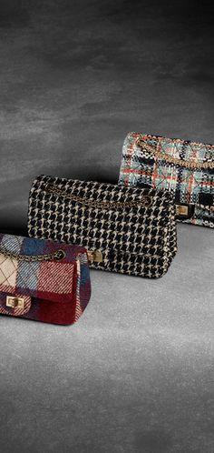 Tweed 2.55 flap bag - CHANEL