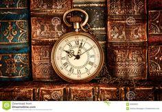 vintage-pocket-watch-still-life-antique-background-old-books-60626925.jpg (1300×906)