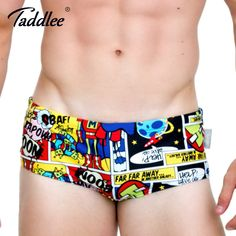01fb687fe97e1 Taddlee Brand Men Swimwear Swimsuits Swim Boxer Briefs 2017 New Design  Beach Board Trunks Sexy Men's Swim Bikini Gay 3D Printed-in Men's Trunks  from Sports ...