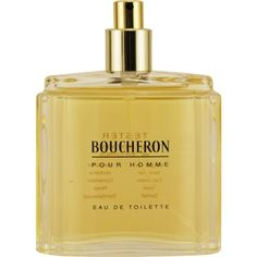 Launched by the design house of Boucheron in 1991, BOUCHERON by Boucheron for Men posesses a blend of: citrus and woodsy tones. It is recommended for romantic wear.