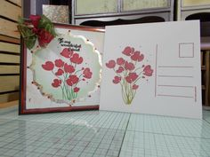 """2 of 2 made by sandie irving """"stamps by me ltd"""" stamps"""