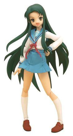 Used figma 077 The Melancholy of Haruhi Suzumiya Kouyou Academy Uniform Ver.
