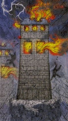 The Tower - Tarot of Reflections