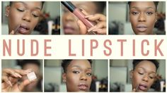 Nude Lipstick Favorites | Destiny Godley