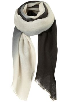 Topshop mid weight ombre scarf. $32