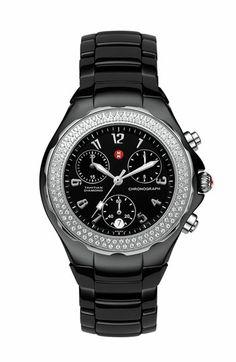 MICHELE 'Tahitian Diamond' Ceramic Bracelet Watch, 35mm (Regular Retail Price: $1,995.00) available at #Nordstrom