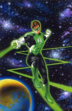 Green Lantern Hal Jordan by Mark Sparacio