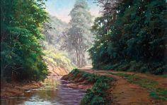 pinturas de paisagens - Pesquisa Google
