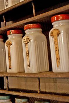 Vintage Military bread tin spice rack