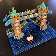 타워 브릿지 가고싶다. 만나러~ #la#losangeles#daily#nanoblock#towerbridge#london#미국#엘에이#일상#나노블럭#타워브릿지#런던#영국#팔로우#맞팔