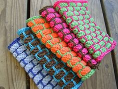 Ravelry: Ballband Dishcloth pattern by Peaches & Creme Design Team