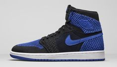 """fd5f0185fe66 Air Jordan 1 Fly-knit """"Royal"""" will be Out in Month s Time. Jordan Release  DatesRoyal ..."""