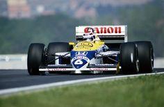 Williams FW11B  - Piquet voltaria a vencer o GP da Hungria no ano seguinte, em 1987 (Foto: Divulgação)