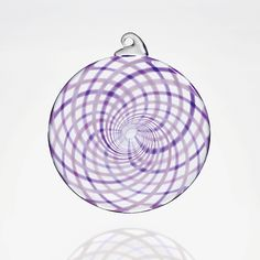 Spun Sugar by Thomas Kelly: Art Glass Ornament available at www.artfulhome.com