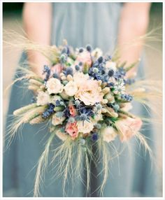 Flower Friday: Romantic Rustic Bouquets