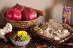 Dia de Los Muertos (Day of the Dead) ofrenda (altar)
