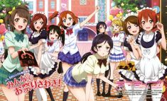 Japanese 'Love Live! School Idol Project' Second Season Anime DVD/BD Releases Get English Subtitles