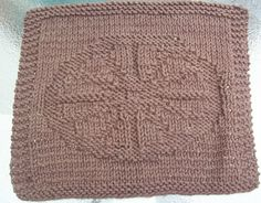DigKnitty Designs: Wagon Wheel Knit Dishcloth Pattern
