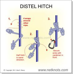 Distel Hitch - Arborist friction knot