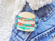 Burger Fast Food Burger Pizza Fries by Hoodratroughdiamond on Etsy