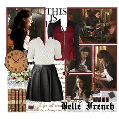 """Belle- Of Once Upon A Time"" by opelazar on Polyvore"
