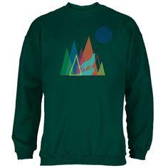 Howl At The Moon Black Adult Sweatshirt