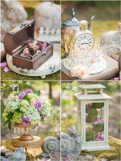 Enchanted-Wedding-Details // cake stands by Opulent Treasures > http://www.opulenttreasures.com/shop/chandelier-round-cakes-set-of-3