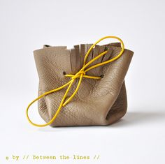 Simple DIY coin purse by // Between the Lines //, via Flickr