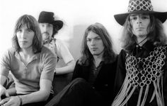 groupe #pinkfloyd, 1969, #rogerwaters #nickmason #davidgilmour #rickwright