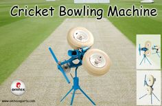 Cricket Bowling machine .  www.omtexsports.com has the sole distribution rights in India