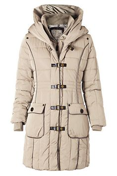 keep me warm Mango Quilted Anorak. Love the front closure detail, very slick 9b483cfb31