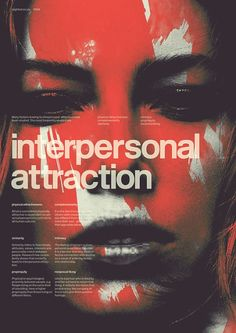 Interpersonal attraction by The Slighted Graphic Design Posters, Graphic Design Illustration, Graphic Design Inspiration, Typography Design, Editorial Layout, Editorial Design, Posters Conception Graphique, Newspaper Design, Communication Design