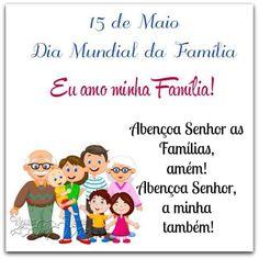 15 de maio dia internacional da família ✨