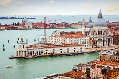 Stock photo available at Fotolia: Venice - Punta Della Dogana