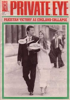 A newspaper headline from Pakistan Win against England Imran Khan Pakistan, Pakistan Zindabad, Imran Khan Wedding, Private Eye Magazine, Jemima Goldsmith, Reham Khan, Dig For Victory, Queen News, King Of Hearts