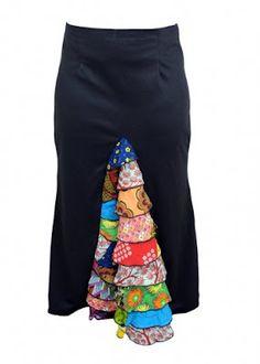 Patch Ankara Dresses by Babe 4 Life, Nigeria.