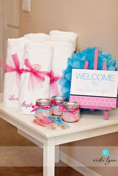 The TomKat Studio: {Real Parties} Fabulous Spa Birthday Party! Autumn would flip out for a spa party. Spa Day Party, Kids Spa Party, Pamper Party, Birthday Party For Teens, Sleepover Party, Slumber Parties, Girl Birthday, Party Party, Birthday Ideas