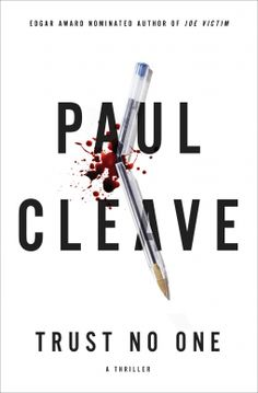 """""""Trust No One"""" by Paul Cleave If you liked """"Gone Girl,"""" and watched """"Are you… Book Club Books, Book Nerd, Book Lists, The Book, I Love Books, Great Books, Books To Read, Reading Books, Trust No One"""