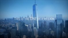 Come Start at One. See Forever. One World Observatory. Now Open.