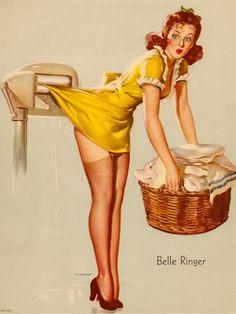Vintage pinup girl Vintage pin-up girl.  Pinup. #vintagepinupgirl #pinupgirls #vintage  Have fun! - XOXO, Jomadado.com