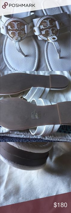 Authentic Tory burch Used twice perfect for summer not dirty, or scratched Tory Burch Shoes Sandals