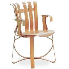 Hat Trick Chair by Frank O. Gehry produced by Knoll International