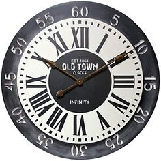 Infinity Instruments London Wall Clock Large315 ** You can find out more details at the link of the image.